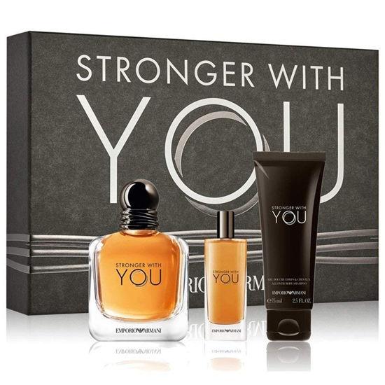 Buy Giorgio Armani Stronger With You  Pour Homme  Eau de Toilette   100mL  Set Online at low price