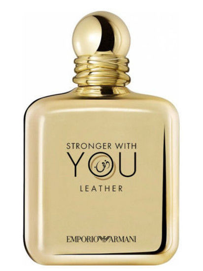 Buy Giorgio Armani Stronger With You Leather Eau de Parfum 100mL Online at low price