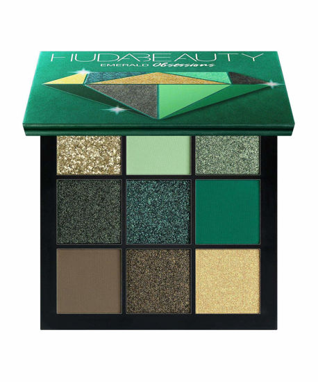 Buy Huda Beauty Emerald Obsession Eyeshadow Palette Online at low price